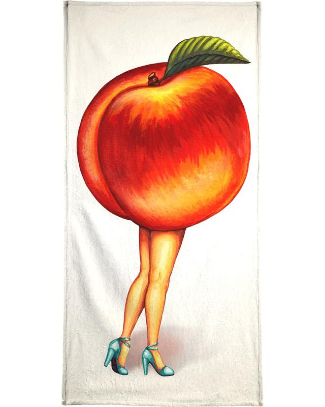 Fruit Stand - Peach serviette de bain