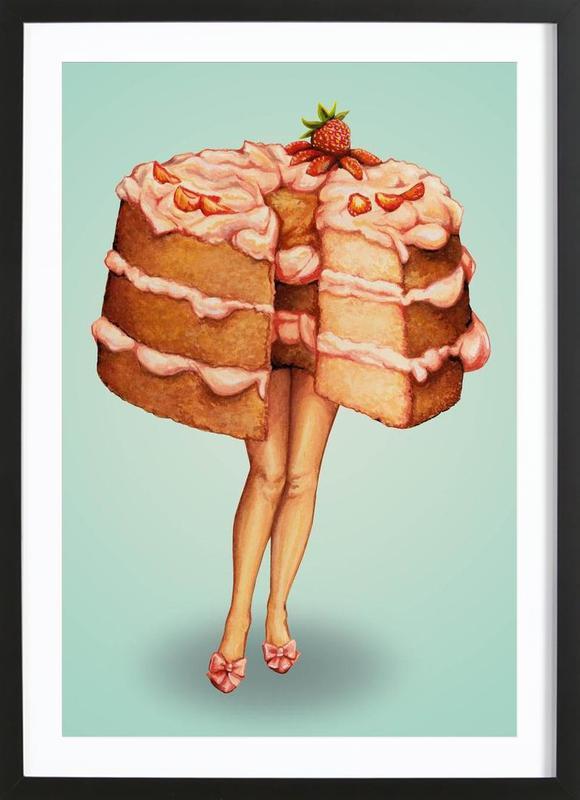 Hot Cakes III ingelijste print