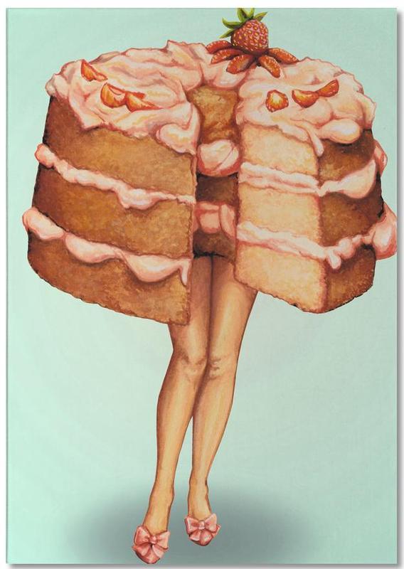 Gâteaux, Rétro, Hot Cakes III bloc-notes