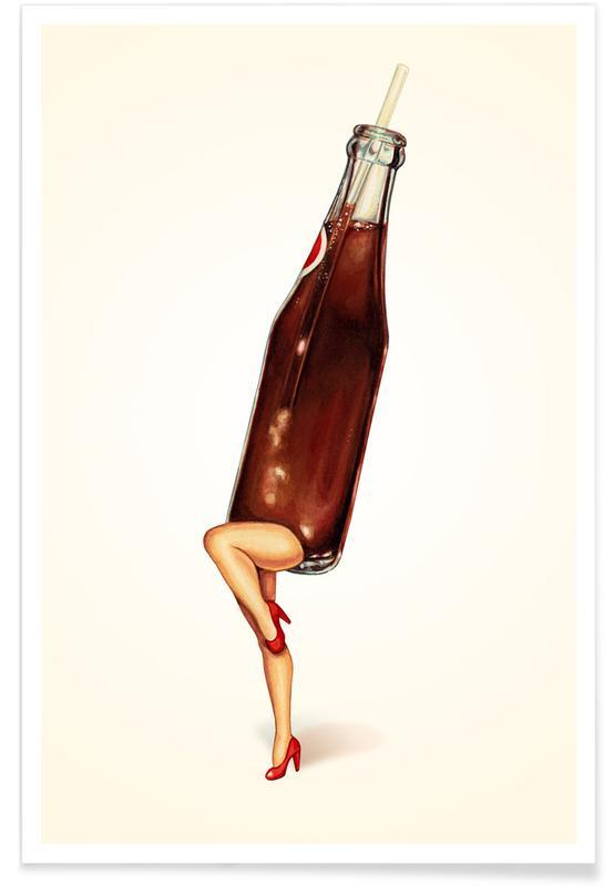 Soda Girl Poster