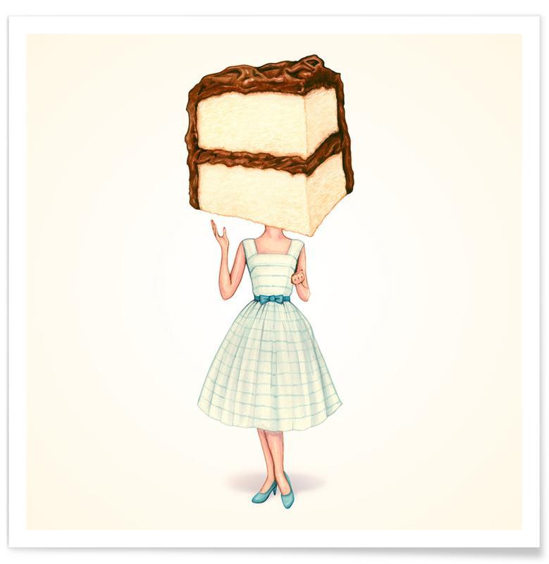 Cake Heads Chocolate -Poster