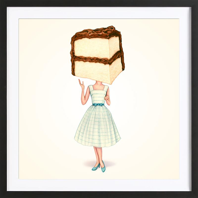 Cake Heads Chocolate ingelijste print