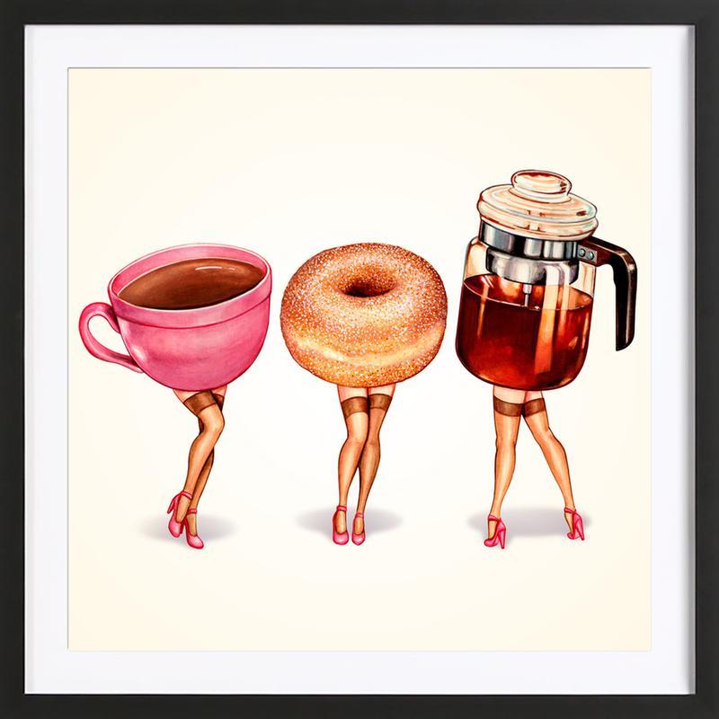 Coffee Girls Framed Print