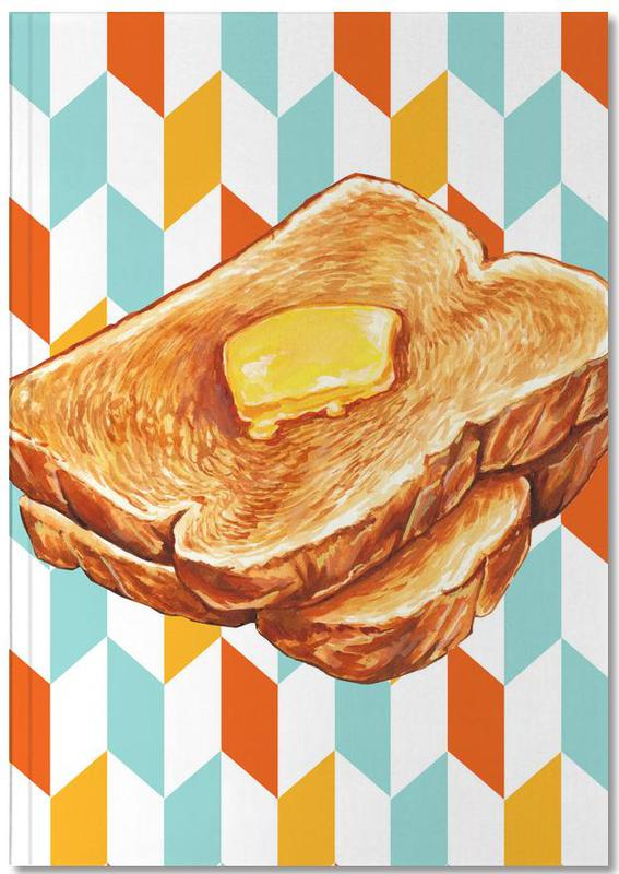 Buttered Toast Notebook
