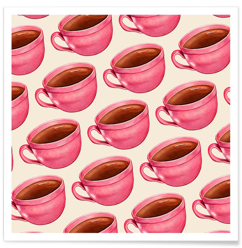 Koffie, Coffee Patterns Coffee poster