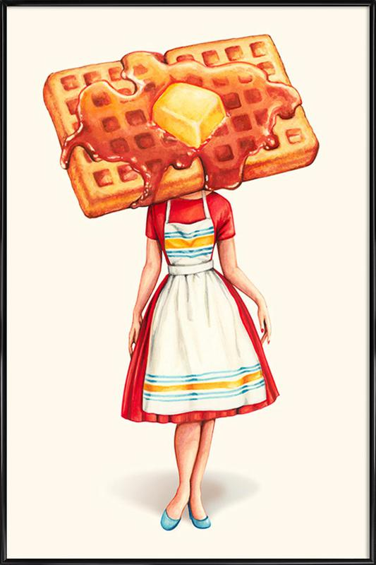 Waffle Housewife Framed Poster
