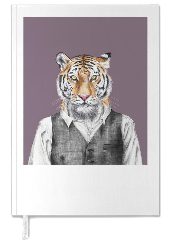 Kunst voor kinderen, Tijgers, Tiger im Hemd und Weste agenda