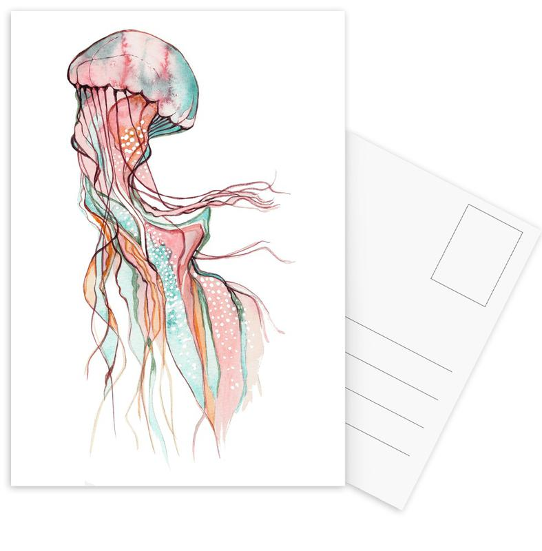 Jellyfish Postcard Set