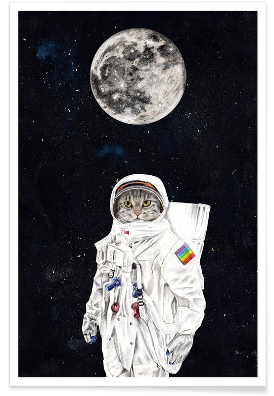 Spacecat Poster