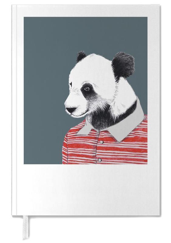 Nursery & Art for Kids, Pandas, Panda im Polohemd Personal Planner