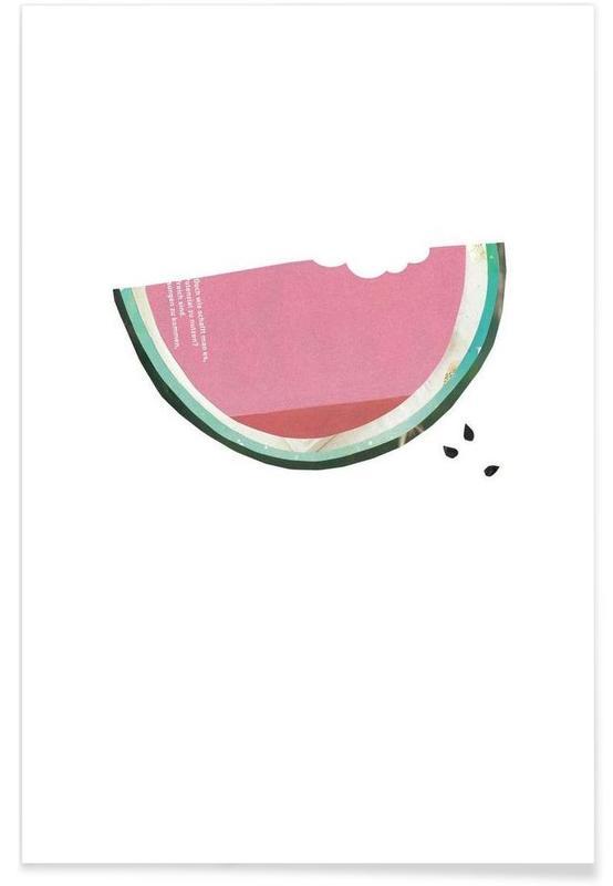 Pastèques, Melone 2 affiche