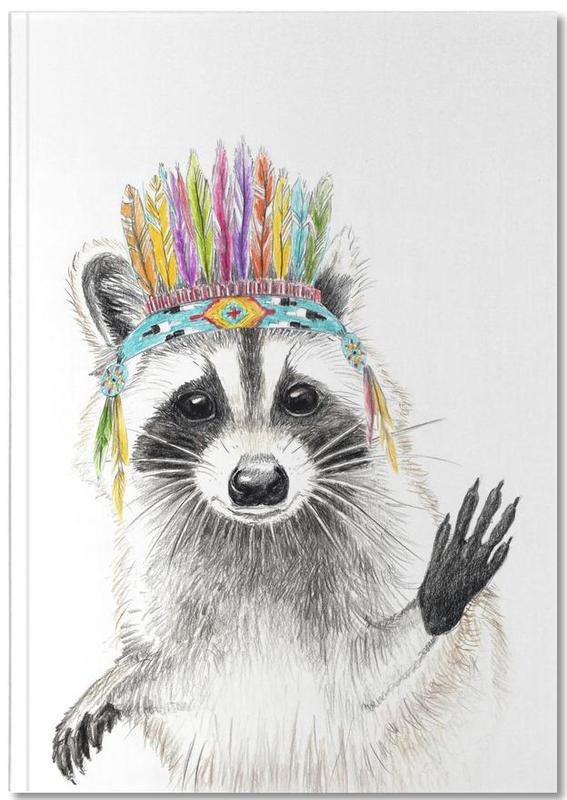 Art pour enfants, Raccoon Notebook