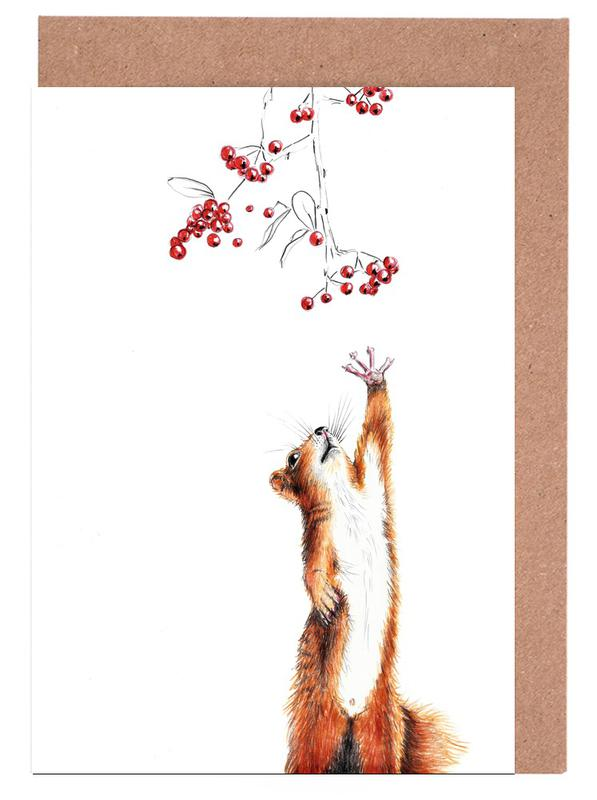 Squirrel Greeting Card Set