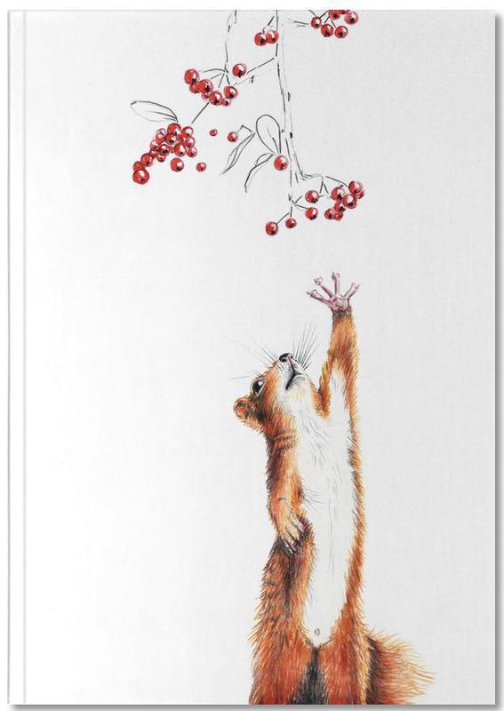 Art pour enfants, Ecureuils, Squirrel Notebook