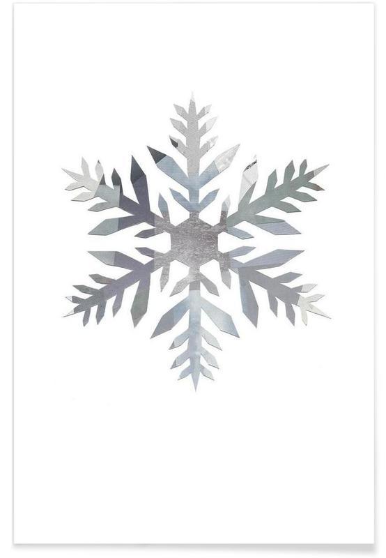 Christmas, Snowflake 4 Poster