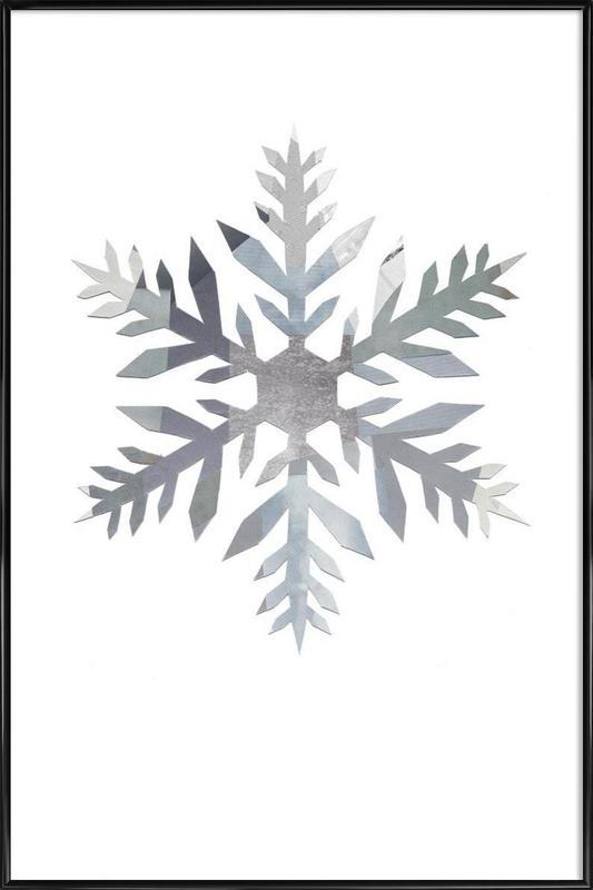 Snowflake 4 ingelijste poster