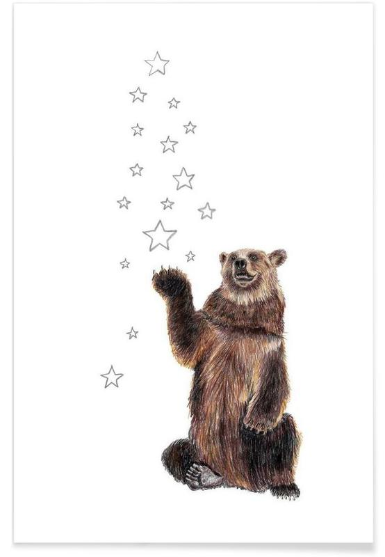 Beren, Christmas Bear poster