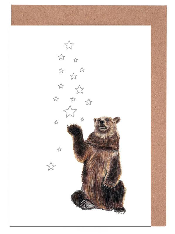 Christmas Bear Greeting Card Set
