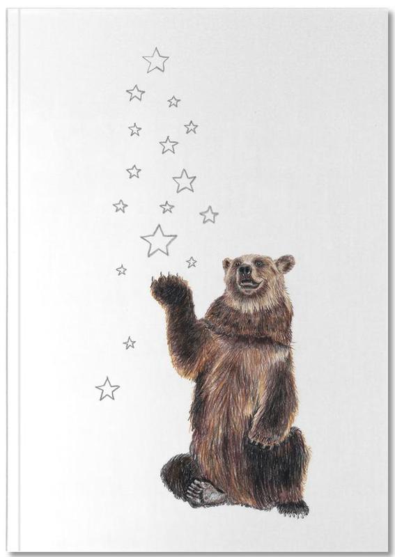 Christmas Bear Notebook