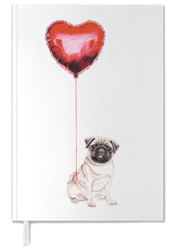 Pug & Balloon -Terminplaner