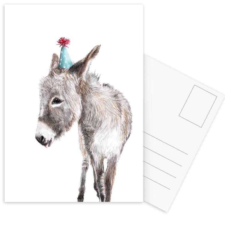 Esel -Postkartenset