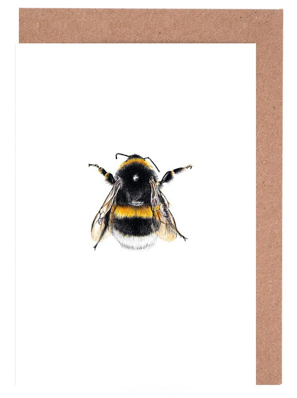 Bumblebee 01 Greeting Card Set