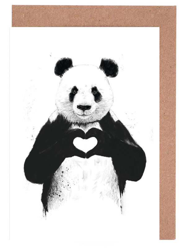 All You Need Is Love Greeting Card Set