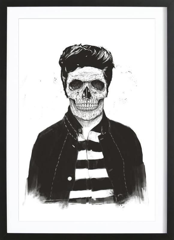 Death Fashion Framed Print