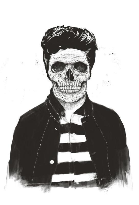 Death Fashion alu dibond