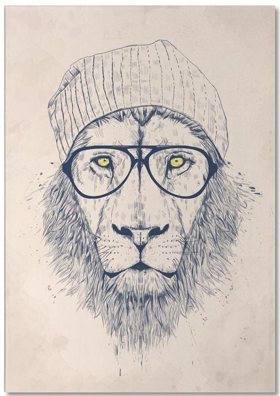 Cool lion Notepad