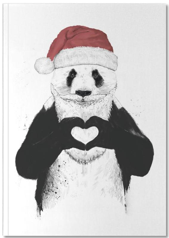 Santa Panda Notebook
