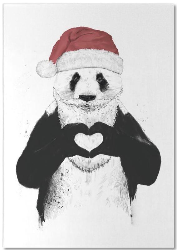 Santa Panda Notepad