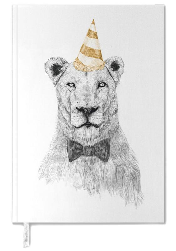 Lions, Get the Party Started Color Personal Planner