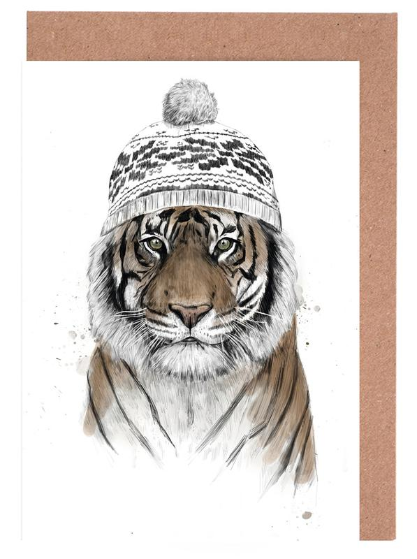 Siberian Tiger Greeting Card Set