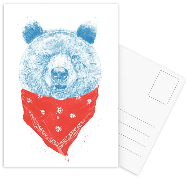 Ours, Wild Bear Color cartes postales