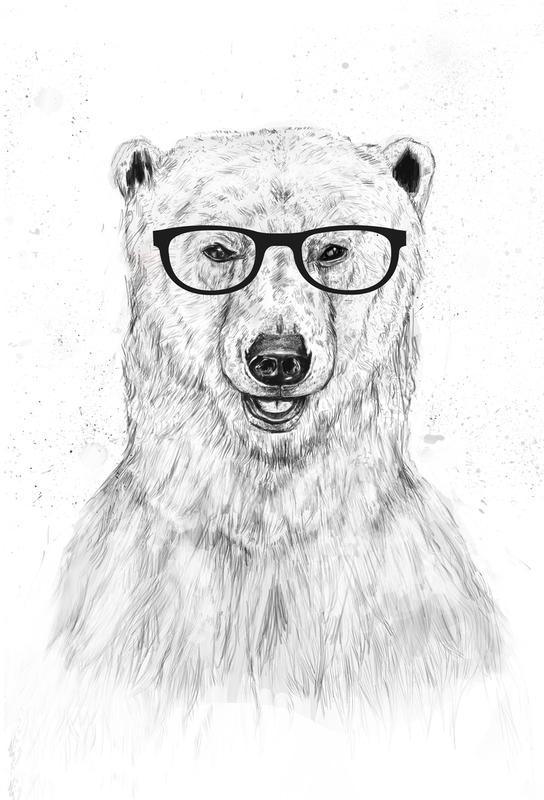 Geek Bear alu dibond