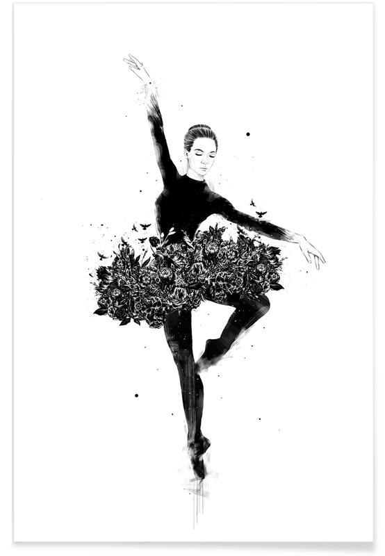 Tanzen, Floral dance -Poster