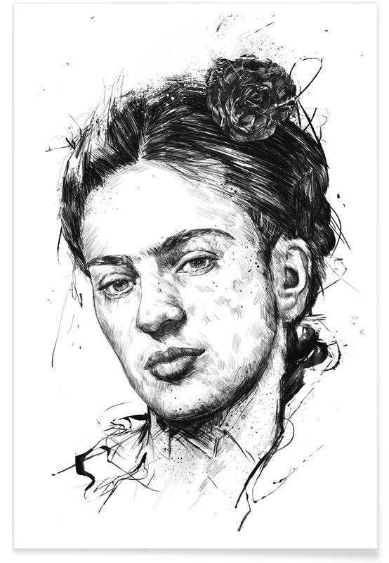 Porträts, Frida -Poster