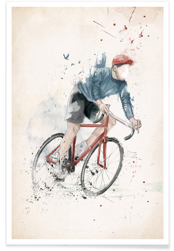 , I Want To Ride My Bicycle Poster