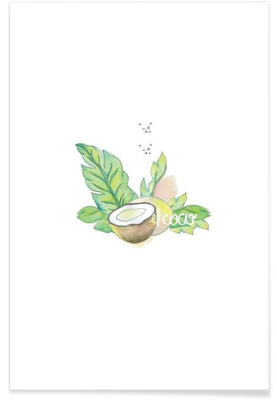 Noix de coco, El Coco affiche