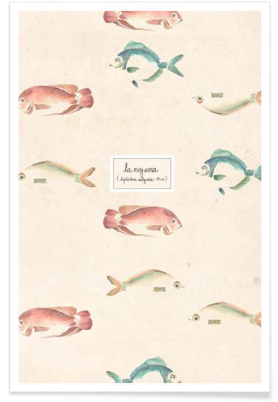 Las Mojarras Vert ( Poster) -Poster