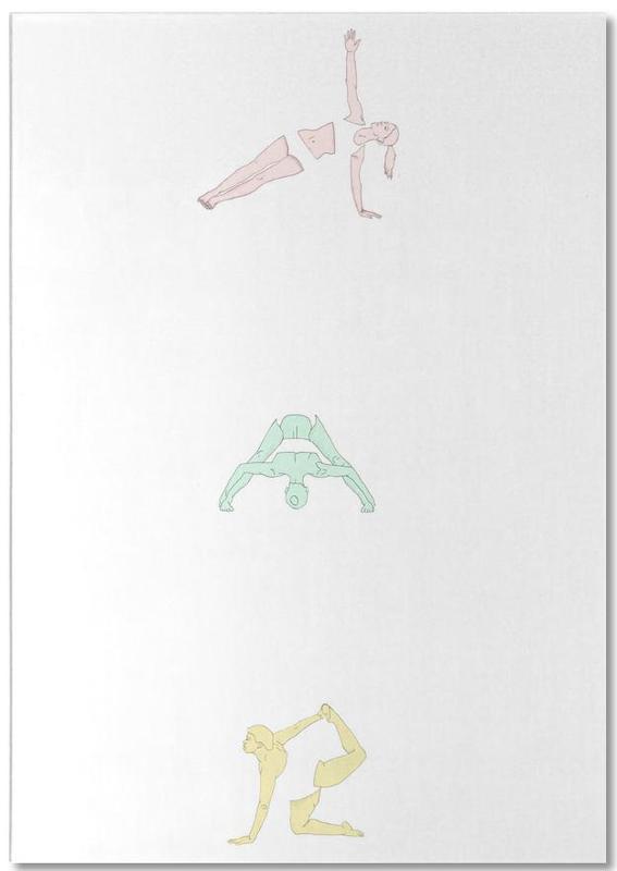 Yoga, Yoga Practice 2 Notepad