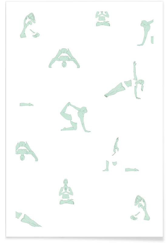 Yoga, Yoga Practice 6 -Poster