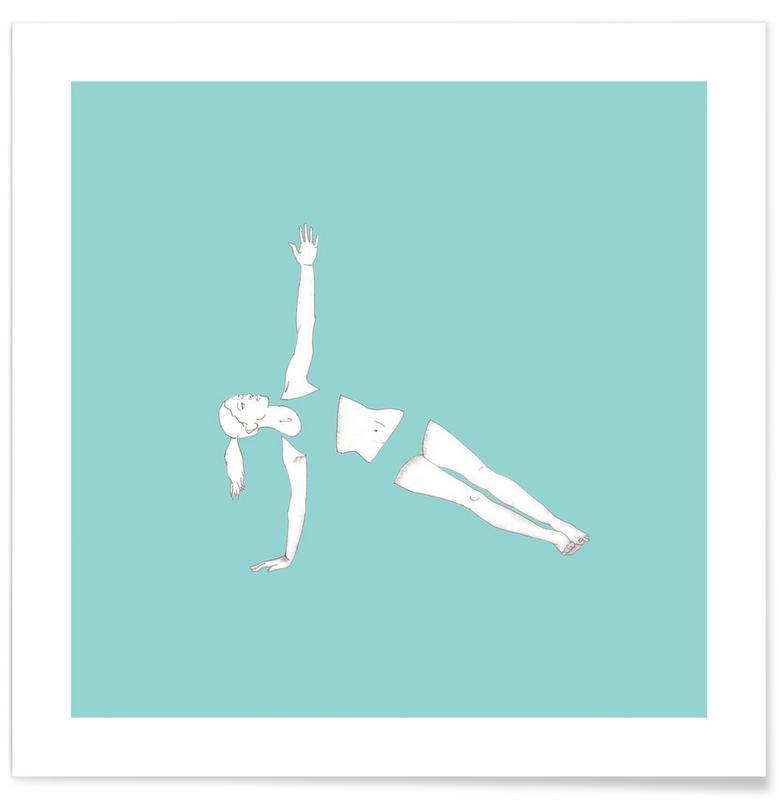Yoga, Yoga Practice 8 Poster