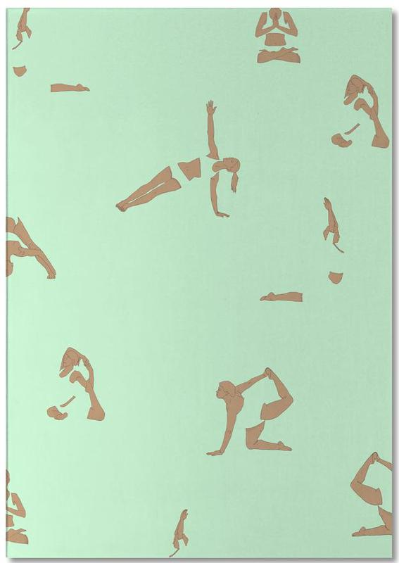 Yoga, Yoga Practice 13 Notepad