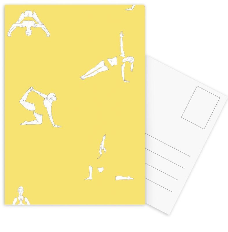 Yoga, Yoga Practice 14 cartes postales