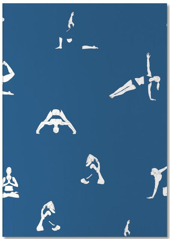 Yoga, Yoga Practice 15 Notepad