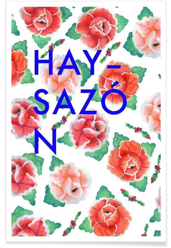 Citations et slogans, Las Rosas de Bartolomé - Hay sazón affiche