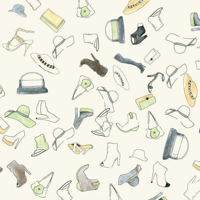 Pattern: Shooz Canvas Print