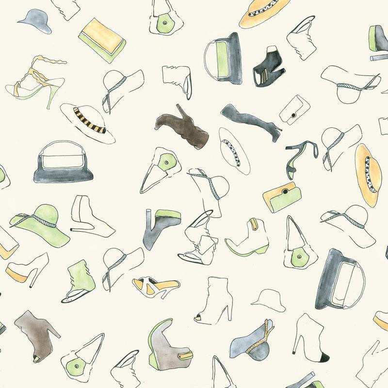 Pattern: Shooz Aluminium Print
